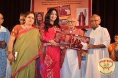 Tollywood actress Rituparna Sengupta's group Bhavna Aaj o kal organized a musical evening at Gorky Sadan recently.
