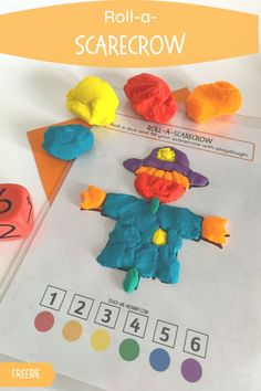 Fall Crafts For Toddlers, Easy Fall Crafts, Autumn Activities For Kids, Toddler Crafts, Kids Crafts, Playdough Activities, Creative Thinking, Projects For Kids, School Stuff