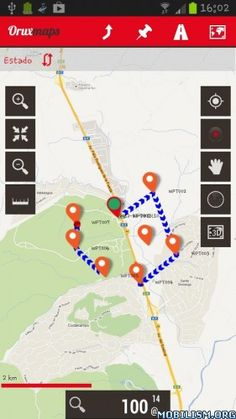 OruxMaps Donate v7.0.4Requirements: 2.3 and upOverview: Map viewer/route logger for your outdoor activities.  -online with many different types of maps (Google maps, OpenStreetMap, Microsoft Maps,etc.).-offline with calibrated maps for the...