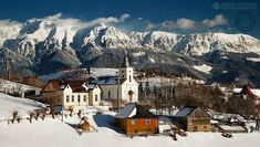 Winter is coming…but unlike Game of Thrones, it brings holidays & joy. Winter in Romania can have many faces. Wonderful Places, Beautiful Places, Amazing Places, Beautiful Pictures, Brasov Romania, Transylvania Romania, Visit Romania, Places Worth Visiting, Snowy Day