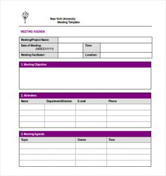 Download The Basic Meeting Minutes Template From VertexCom