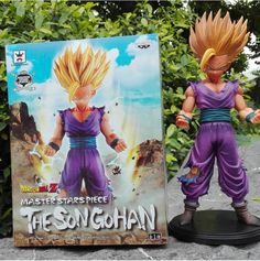 Anime Dragon Ball Z 2 Styles 23CM Master Stars Piece The Son Gohan PVC Action Figure Christmas Gift Brinquedos Collectible Toy //Price: $US $14.44 & FREE Shipping //     #toyz24