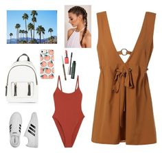 """""""Coachella Valley day2"""" by lourdes-dominguez ❤ liked on Polyvore featuring Alix, adidas, New Look, Clinique and H&M"""