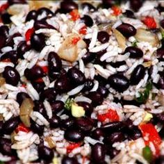 Black Beans and Rice on BigOven: A great side dish for my Jerk Chicken recipe or any other South American meal.