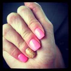 Love.  I am going to do this manicure for my Mother's Day present to myself.