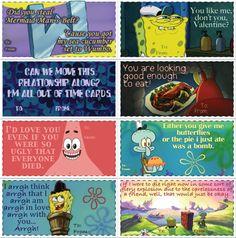 spongebob on valentine's day