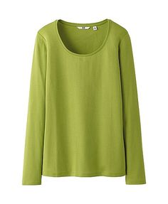 WOMEN PREMIUM COTTON CREW NECK LONG SLEEVE T-SHIRT (Suggested item to recreate this #oufitidea: http://www.franticbutfabulous.com/2013/11/13/working-mom-outfit-idea-slightly-unexpected/)