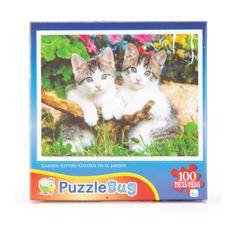 Puzzlebuz 100 piece Garden Kitties