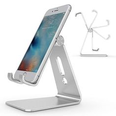 Pocket Card Phone Holder Foldable Light Flexible Plastic Mobile Phone Stand for iPhone for Samsung Galaxy for All Smart Phones Black Adjustable Desktop Cell Phone Holder Portable Phone Stand