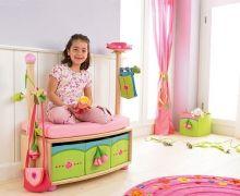 Detská šatňa Ružová víla - Detské vešiaky a iné doplnky - Detská izba - Hračky a Detský nábytok- Detský Sen - Maxus