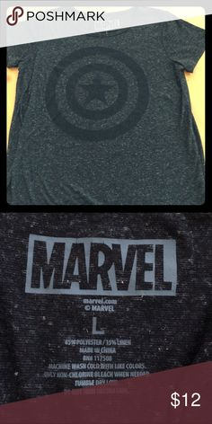 New Marvel Vintage Style T-shirt Brand new without Tags. Never been worn and cute. This is a Vintage style T-shirt. Size L. Marvel Tops Tees - Short Sleeve