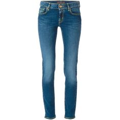 Jacob Cohen Skinny Jeans ($328) ❤ liked on Polyvore