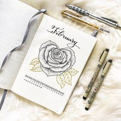 "285 Likes, 20 Comments - Rachel D. (@rachelbujo) on Instagram: ""Hello guys! Here's my week 6 layout. Hope you don't get bored with my roses . I'm still testing…"""