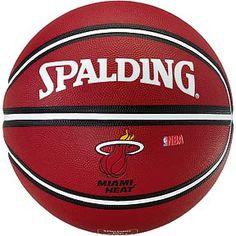 RED SPALDING BASKETBALLL BALL | NBA PlayerBall-Dwayne Wade | 24