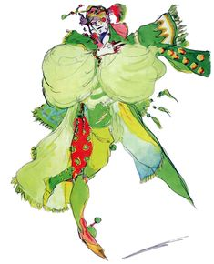Kefka Palazzo - Pictures & Characters Art - Final Fantasy VI