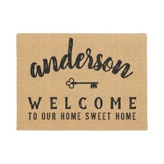 Personalized Welcome Mats, Personalized Gifts, Decor Crafts, Diy Home Decor, Porch Mat, Laser Art, Door Rugs, Funny Doormats, House Warming