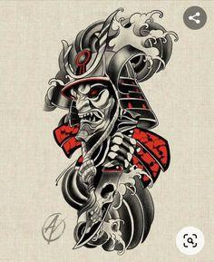 Warrior Tattoo Sleeve, Samurai Tattoo Sleeve, Samurai Warrior Tattoo, Warrior Tattoos, Forearm Sleeve Tattoos, Best Sleeve Tattoos, Tattoo Sleeve Designs, Clock Tattoo Sleeve, Japanese Warrior Tattoo