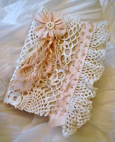 lace journal by Sandra Blanks