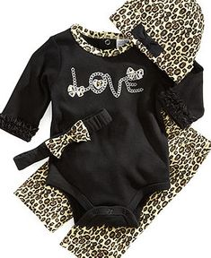 Cute baby clothes.