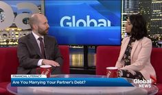 """Vice-President of Sands & Associates and Licensed Insolvency Trustee Blair Mantin joins Global News Vancouver for a Financial Literacy Month segment. Blair shares Things You Didn't Know about Debt"""" with viewers. Global News, Financial Literacy, Marry You, Sands, Debt, November, Learning, November Born, Studying"""