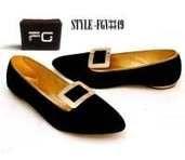 Velvet Loafers - Fg Shoes