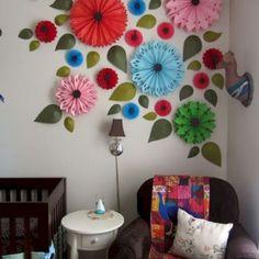 DIY Flower Wall Art Ideas