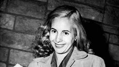 Eva Peron __ María Eva Duarte de Perón (May 1919 – July was the second wife of Argentine President Juan Perón and served as the First Lady of Argentina from 1946 until her death in Second Wife, May 7th, Queen Of Hearts, Strong Women, Two By Two, Hollywood, Celebrities, Lady, Llamas