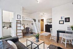 Vivir en un apartamento de diseño de 30 metros cuadrados