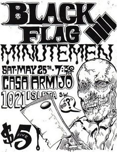 Black Flag/Minutemen