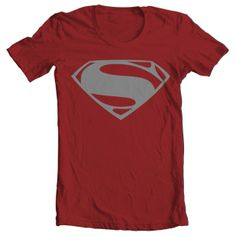 10 Valentine's Day Gifts for Him Under $50. Men's Superman Tee. http://aftcra.com/item/956