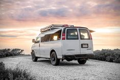 Filmmaker turns a cargo van into a living space