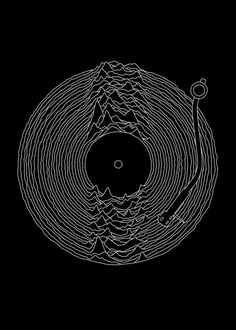 Check out this awesome 'Joy+Division+Unknown+Pleasures+Vinyl+Sound+T-shirt' design on Ian Curtis, Poster S, Poster Prints, Art Print, Muster Tattoos, Unknown Pleasures, Pochette Album, Design Art, Graphic Design