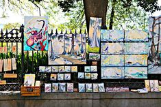 Jackson Square, New Orleans Colorful Art is Very Common Spring Time, Many Tourist in Town… People who own a French Quarter […] New Orleans French Quarter, Jackson Square, Square Art, Condos, Spring Time, Louisiana, The Neighbourhood, Colorful, Painting