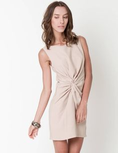 ClubCouture - isabelle nude dress - Just Arrived    http://www.clubcouture.cc/isabelle-nude-dress