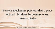 Anwar Sadat Quotes About Peace - 53238