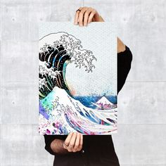 Poster - Tsunami of Colors