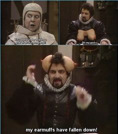 British Comedy Series, British Sitcoms, British Memes, Great Comedies, Classic Comedies, Funny Gags, Hilarious, Blackadder Quotes, Excellent Movies