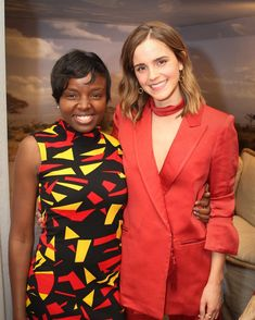 Emma Watson ~ March 8 - In Gloria Steinem ' s house with Camfed on IWD2017, New York