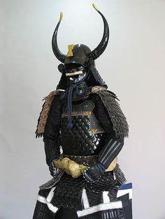 Zunari kabuto, gyorin kozane (fish scale type armor) dou gusoku.
