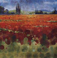 """Spring+Meadows+II  Spring Meadows II Selina Werbelow 36"""" x 36"""" Fine Art Print"""