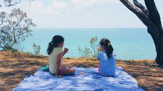 Spontaneous picnic on a cliff overlooking the ocean #spontaneous #picnic #blanket #cliff #childrenunplugged #our_everyday_moments #australia #worldgram #queensland #greatbarrierreef #tree #love #nature #happiness #vegan #vegansofig #vegansofaustralia #plantbased #plantpower #hclv #bepositive #positivevibes by _organicsoul_ http://ift.tt/1UokkV2