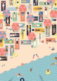 Descubrimos a una ilustradora Indonesia con un gran dominio de los colores pastel: http://www.labiciazul.es/2015/07/putri-febriana-ilustradora-indonesia.html …
