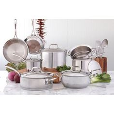 Kirkland SignatureTM 18/10 Stainless Steel 13-piece Cookware Set - http://cookware.everythingreviews.net/3648/kirkland-signaturetm-1810-stainless-steel-13-piece-cookware-set.html