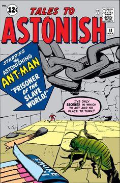 Tales to Astonish # 41 by Jack Kirby & Dick Ayers Silver Age Comics, Best Comic Books, Comic Books Art, Comic Art, Jack Kirby, Tales To Astonish, Tales Of Suspense, Classic Comics, American Comics