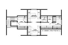 Country Style House Plan - 4 Beds 4.5 Baths 4852 Sq/Ft Plan #928-1 - Houseplans.com Craftsman Style Homes, Craftsman House Plans, Country Style House Plans, Dream House Plans, Cabin Design, House Design, Lowcountry House Plans, Countryside Style, River House