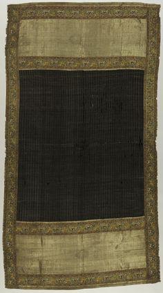 Chadar, ca. 1700. India, Mughal period (1526–1858). The Metropolitan Museum of Art, New York, Samuel D. Lee Fund, 1941 (41.19)