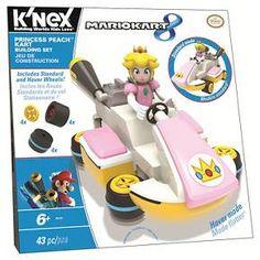 K'Nex® Mario Kart 8 Princess Peach Kart Building Set : Target