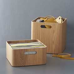 Ashwood Bins | Crate