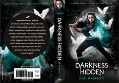 Full wrap of UK paperback for Darkess Hidden, Walker Books. Photography Larry Rostant, cover design Maria Soler Canton