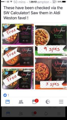 Aldi has a new range out today! Slimming World Ready Meals, Aldi Slimming World Syns, Slimming World Shopping List, Slimming World Syn Values, Slimming World Recipes Syn Free, Slimming World Plan, Slimming Eats, Syn Free Food, Slimmimg World